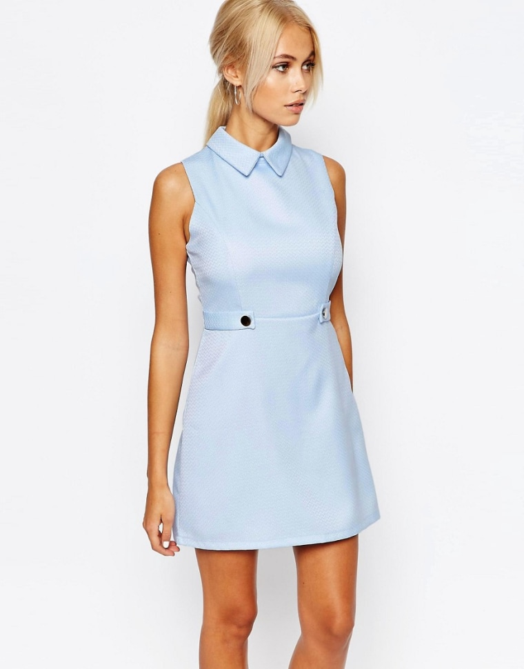 ASOS collar dress