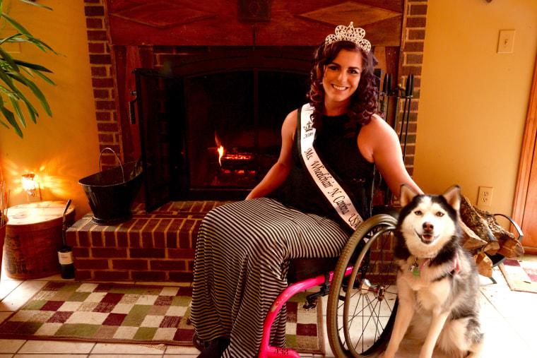 Jesi Stracham will represent North Carolina in this year's Ms. Wheelchair America pageant.