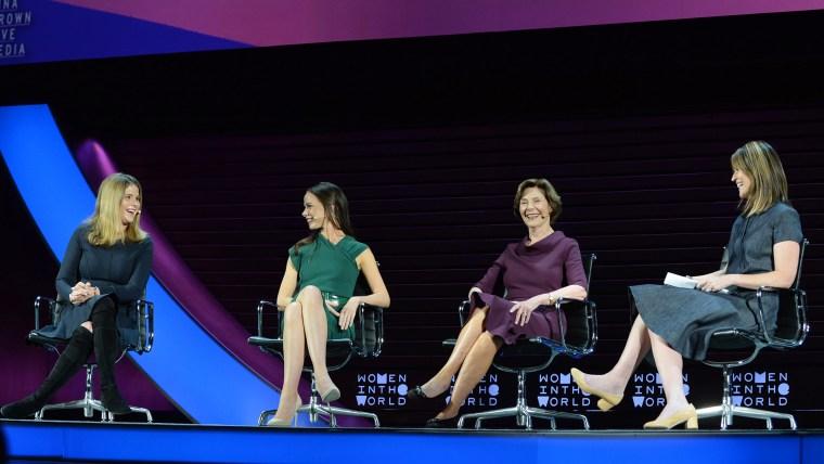 Jenna Bush Hager, Barbara Bush and Laura Bush
