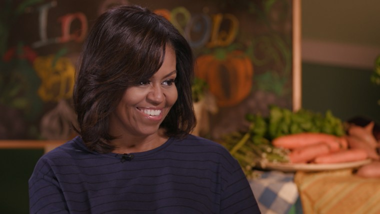 Michelle Obama talks with TODAY's Al Roker