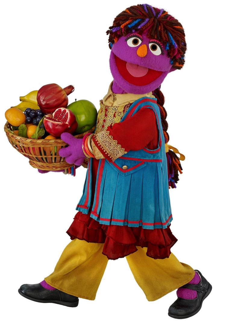 Zari of Sesame Street
