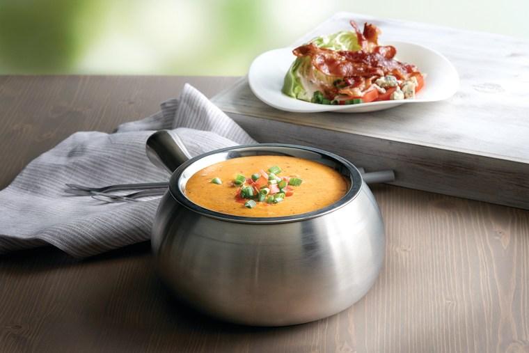 The Melting Pot's BBQ Brisket Cheddar Cheese Fondue