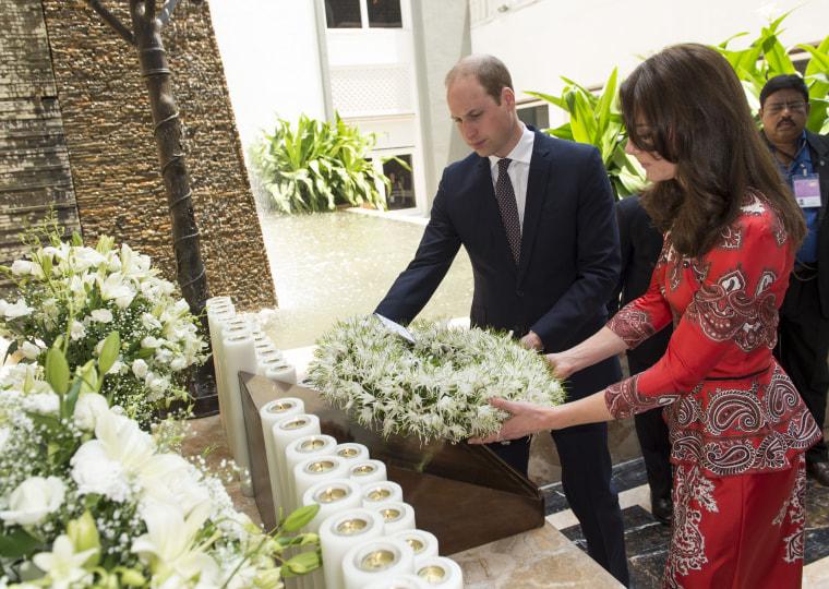 The Duke & Duchess Of Cambridge Visit India & Bhutan - Day 1