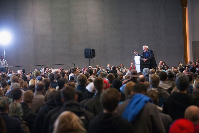 Image: Bernie Sanders Holds Campaign Rally In Milwaukee Before State Primary