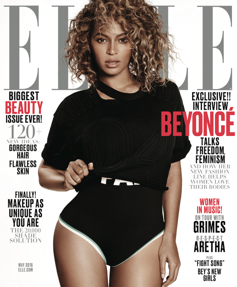 Beyoncé talked to Elle Magazine about power, feminism and criticism to her song, 'Formation.'