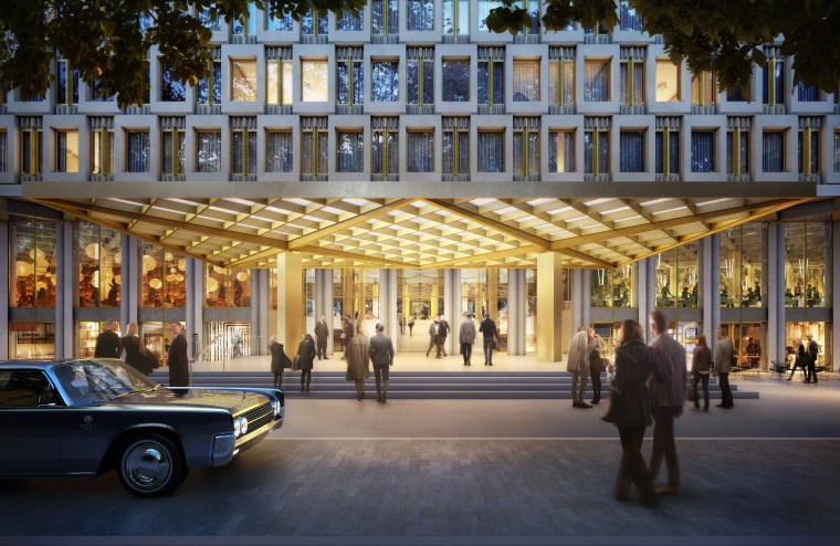 Image: Artist's rendering of soon-to-be redeveloped U.S. Embassy in London