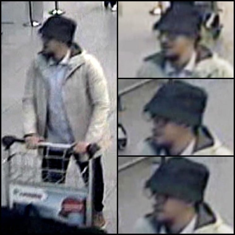 Image: Alleged suspects of Brussels explosions captured on airport CCTV cameras