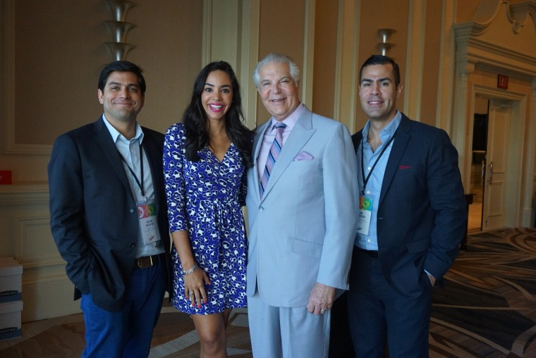 SAG-AFTRA's Adam Moore, Entertainment Weekly senior correspondent Nina Terrero, Natl Hispanic Media Coalition's Alex Nogales and actor JW Cortés discussed ways to boost Latinos in Hollywood at Hispanicize 2016. (April 7, 2016).