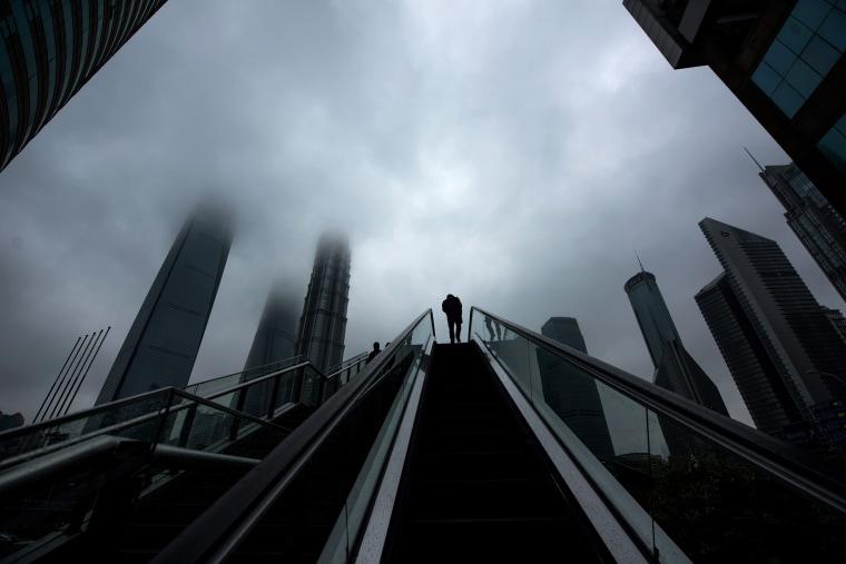 Image: TOPSHOT-CHINA-ECONOMY