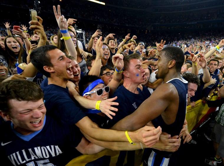 Image: NCAA Basketball: Final Four Championship Game-Villanova vs North Carolina