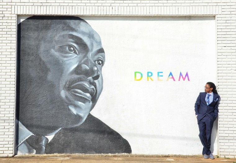 Patrick Washington is Vice President of The Dallas Weekly, a paper which he is trying to revitalize for his community.