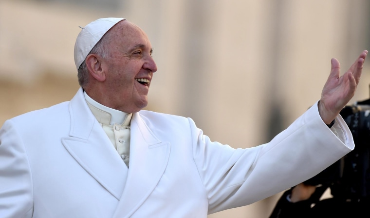 Image: Pope Francis releases exhortation Joy of Love