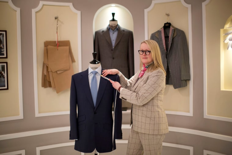 First Female Master Tailor Opens Own Store on London's Historic Savile Row