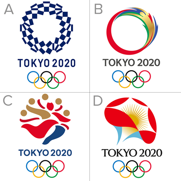 Image: Tokyo 2020 shortlisted emblems