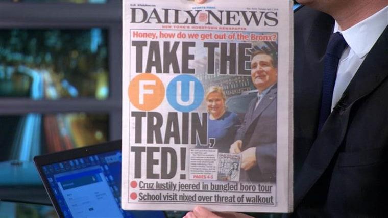 Still from MSNBC's Morning Joe on April 7.