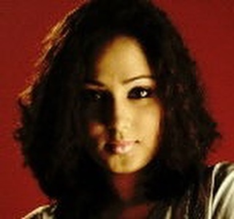 Monica Singh before the 2005 acid attack.