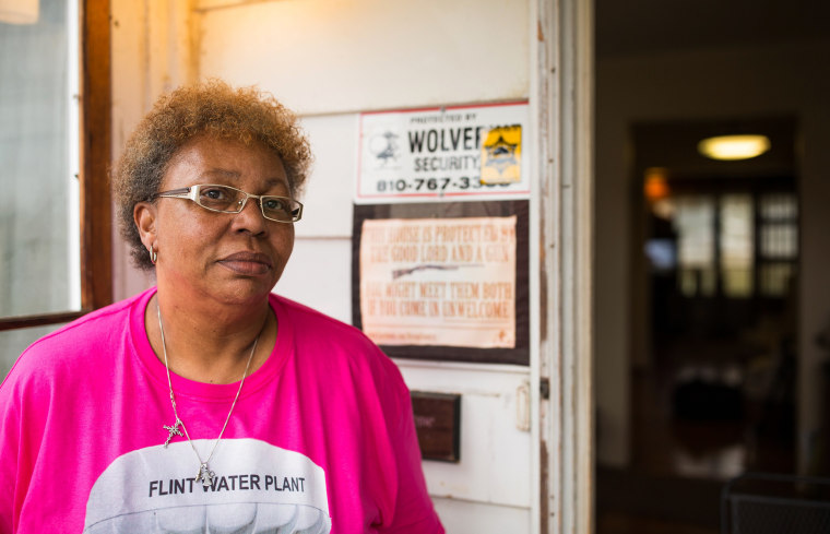 Image: Estelle Holley of Flint, Michigan bought her home as a gutted house in 1974 for just over $5,000.  42 years later she has home worth barely $6,000 even with the full renovation and many other improvements she has done to the property.