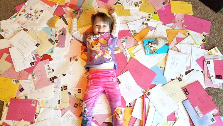 Guess How Many Birthday Cards This Little Girl With A Rare Bone