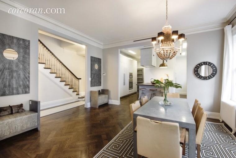 Uma Thurman's New York City apartment