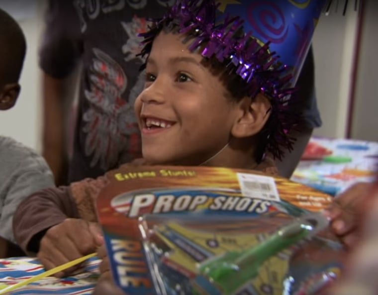 Birthday Wishes for homeless kids