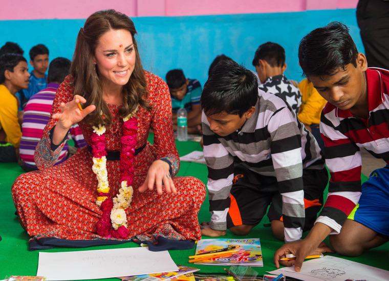 Image: The Duke and Duchess Of Cambridge Visit India  Day 3