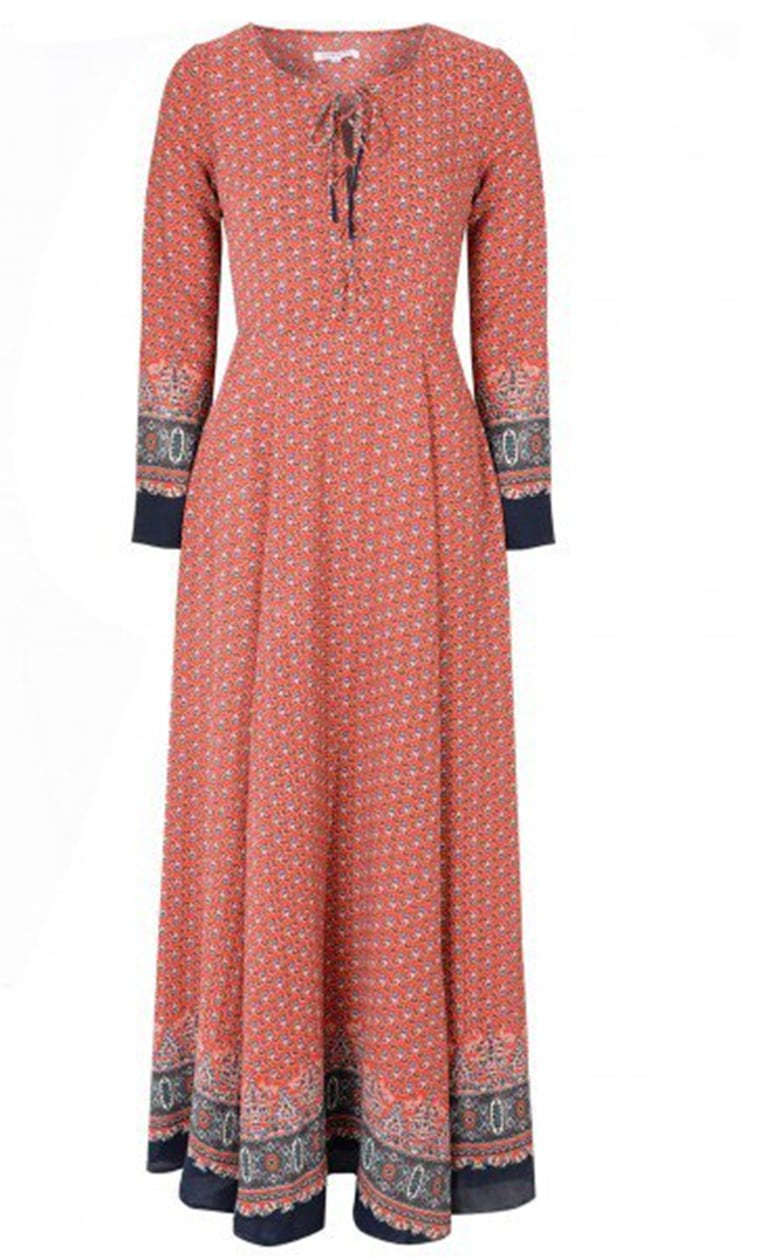 The $71 maxi dress worn by Kate has since sold out.