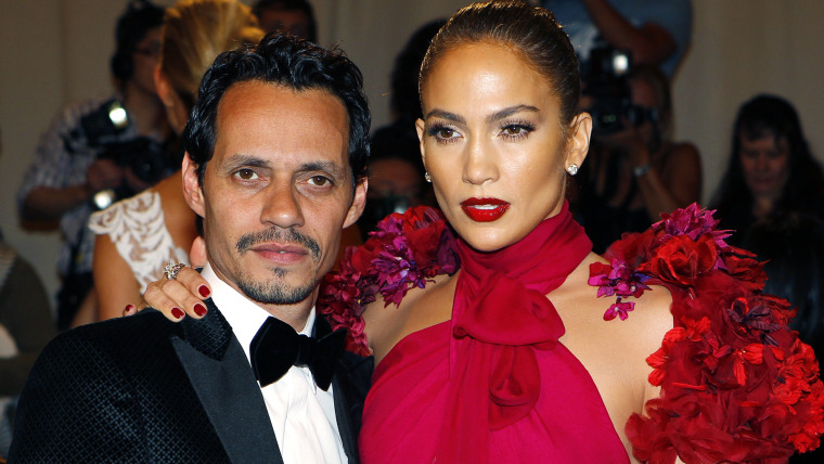 Image: File photo of Marc Anthony and wife Jennifer Lopez arriving at the Metropolitan Museum of Art Costume Institute Benefit in New York