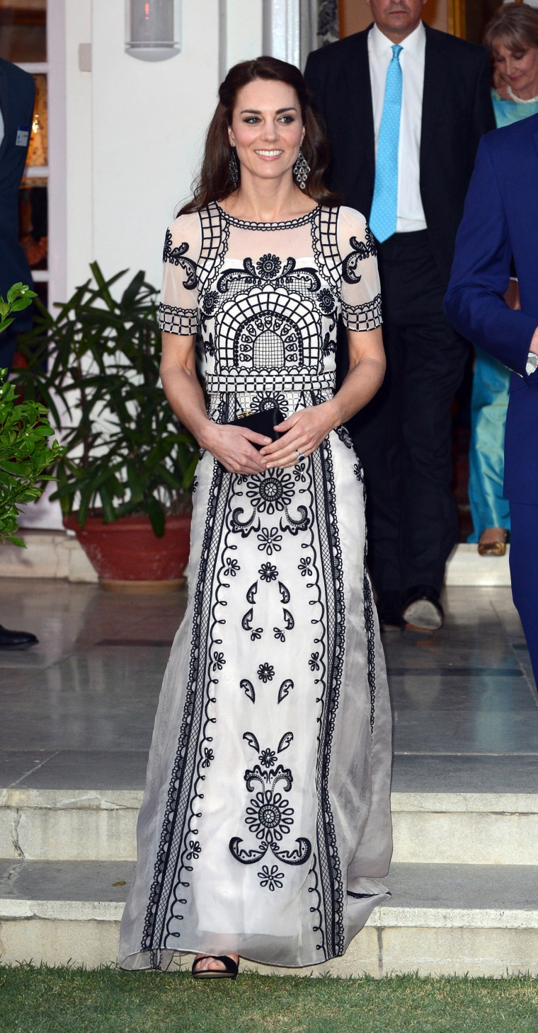 Image: The Duke & Duchess Of Cambridge Visit India & Bhutan - Day 2