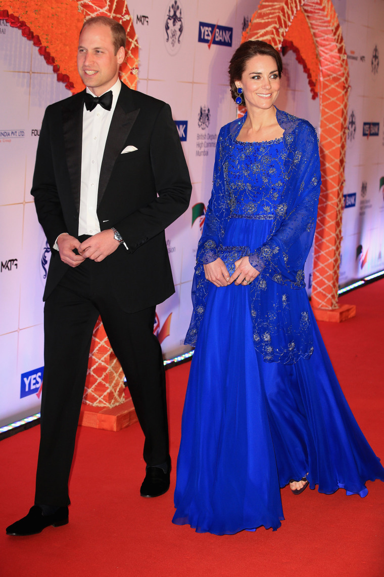 Image: The Duke & Duchess Of Cambridge Visit India & Bhutan - Day 1
