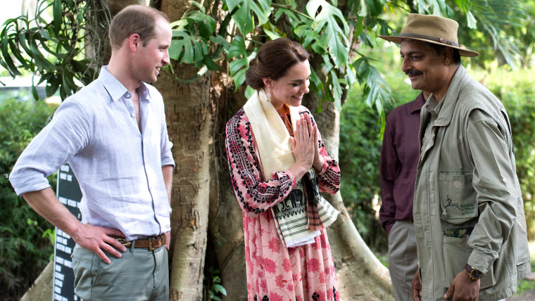 Image: Duchess Kate and Prince William at Centre for Wildlife Rehabilitation and Conservation