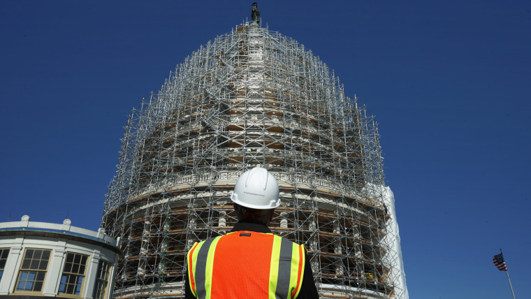 Image: Architect Of The Capitol Briefs Media On Dome Restoration
