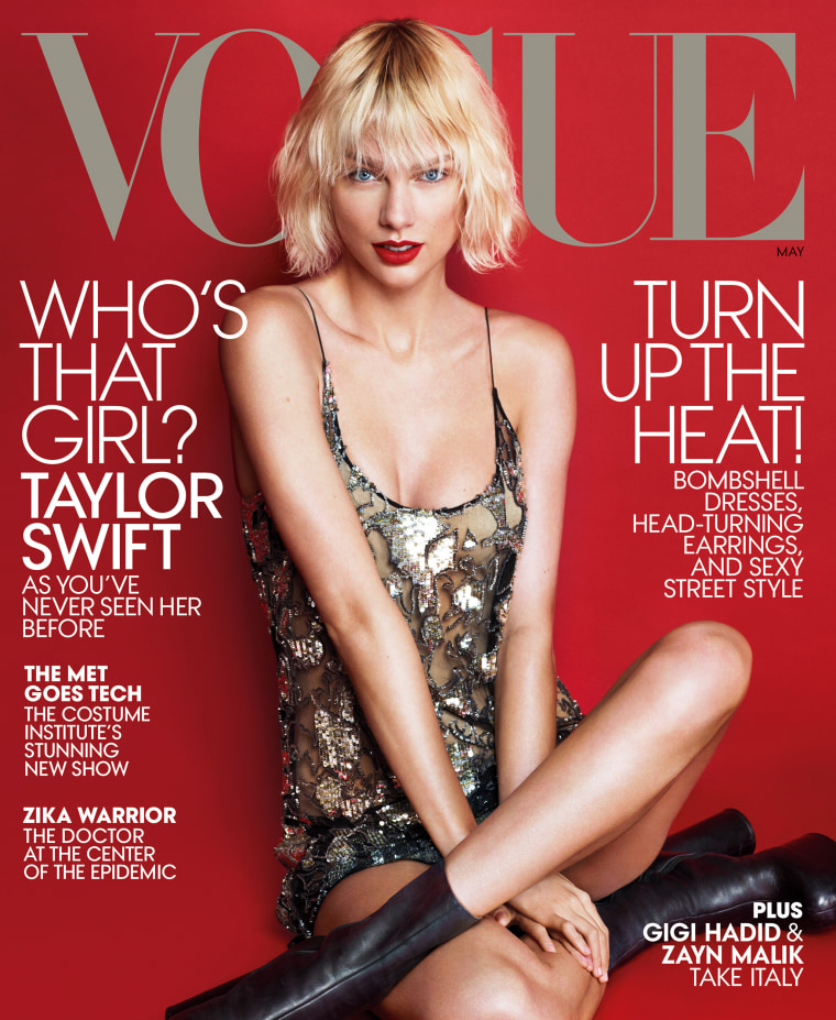 Taylor Swift cover of Vogue
