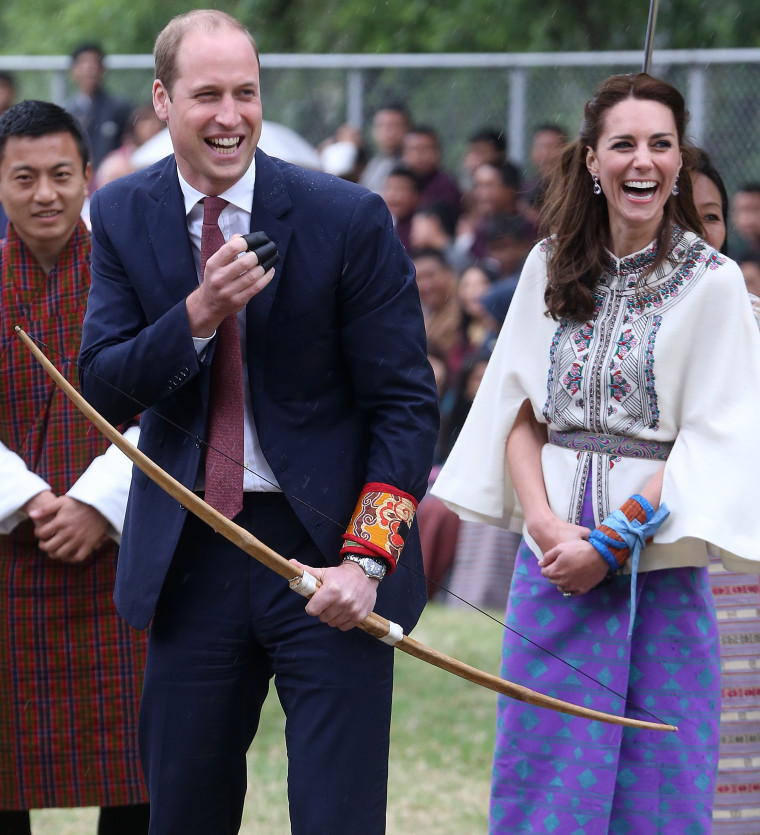 The Duke & Duchess Of Cambridge Visit India And Bhutan - Day 5