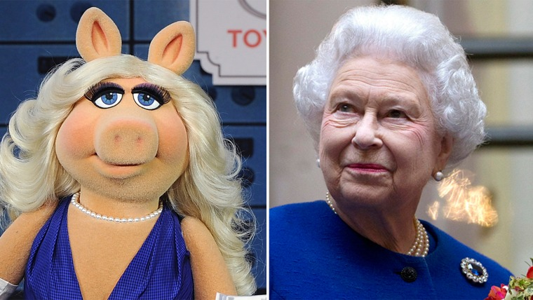 Miss Piggy, Queen Elizabeth