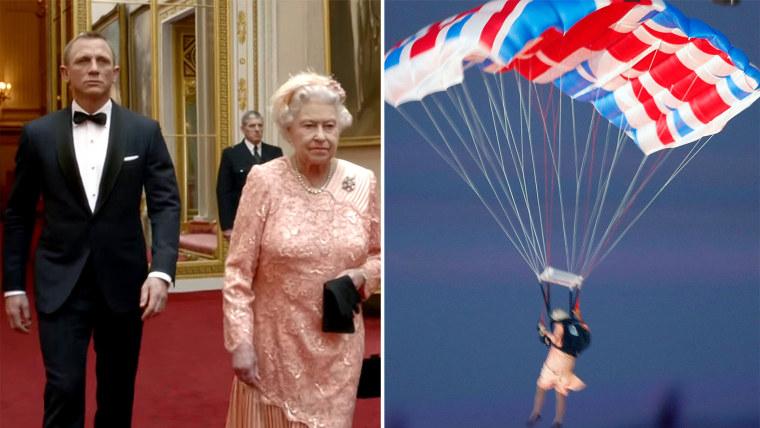 Queen Elizabeth, James Bond