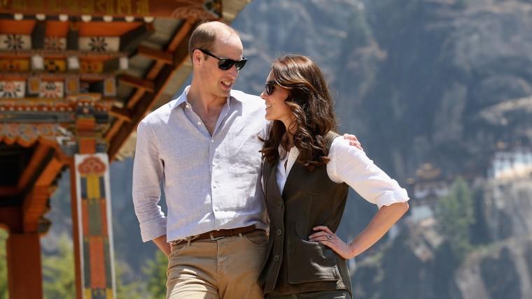 The Duke and Duchess Of Cambridge Visit India and Bhutan
