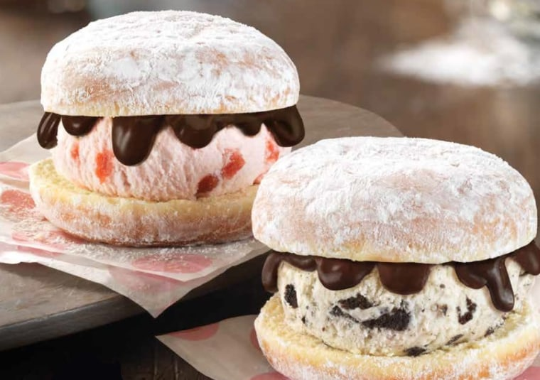 Baskin-Robbins Donut Ice Cream Sandwiches