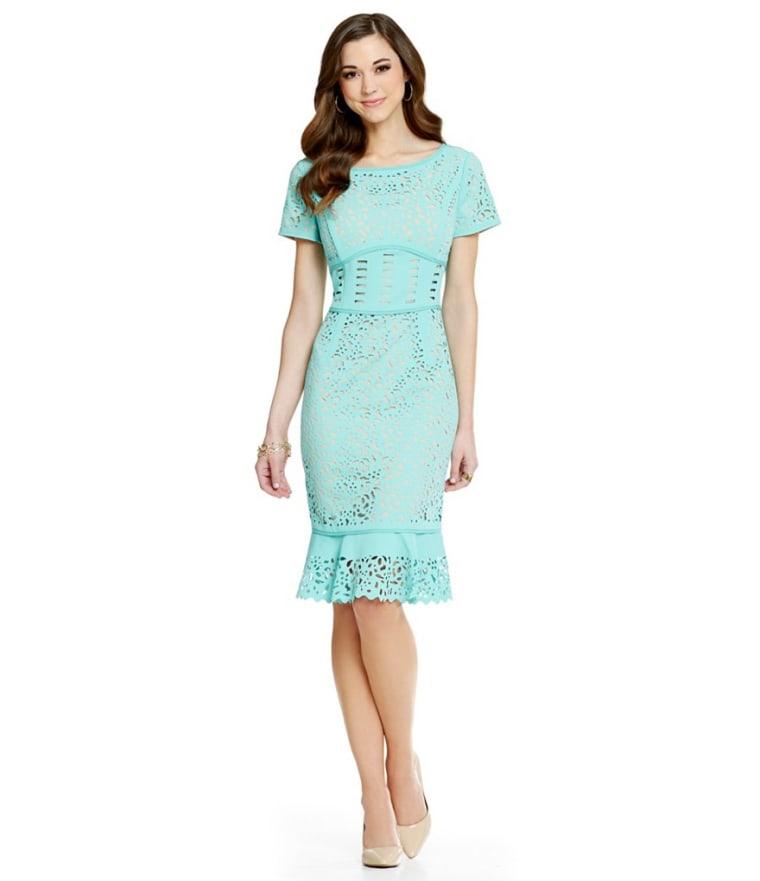 Antonio Melani Carmen Lasercut Dress