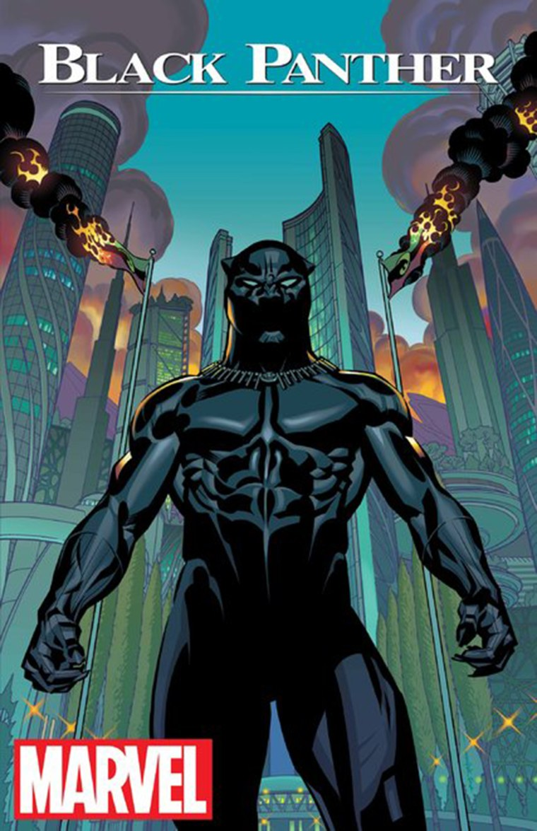 Cover of Black Panther by Marvel.
