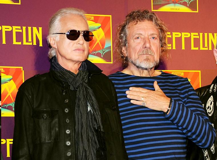 Image: John Paul Jones, Jimmy Page, Robert Plant, Jason Bonham