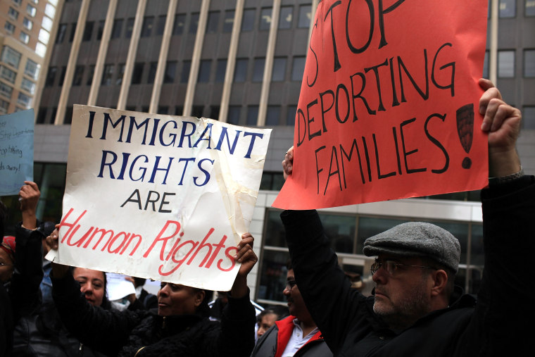 Image: Activists Demonstrate Against Arizona's New Controversial Immigration Law