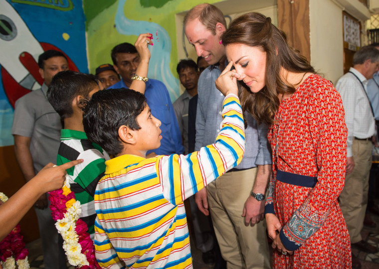 Image: The Duke & Duchess Of Cambridge Visit India & Bhutan - Day 3