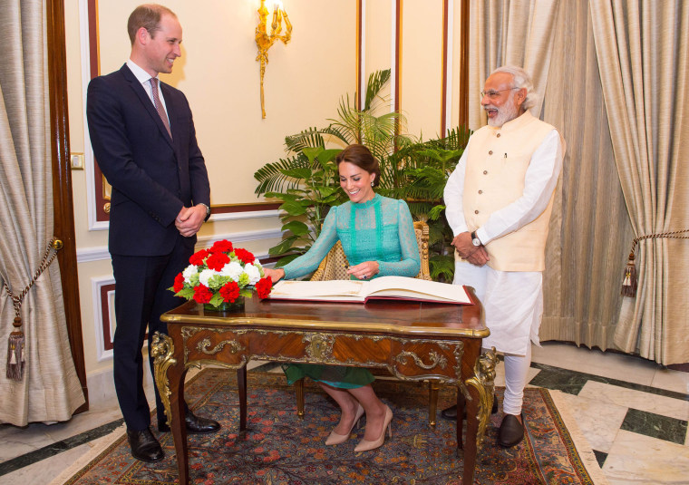 Image: The Duke And Duchess Of Cambridge Visit India And Bhutan - Day 3