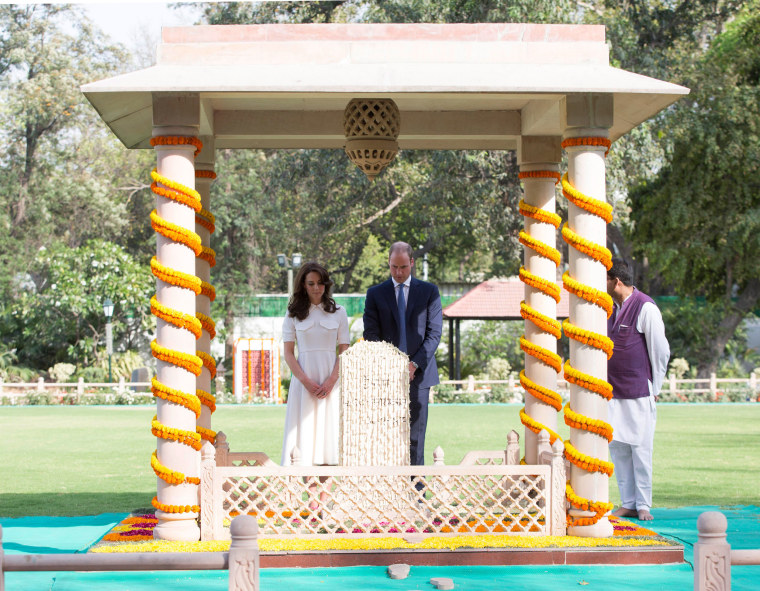 Image: The Duke & Duchess Of Cambridge Visit India & Bhutan - Day 2