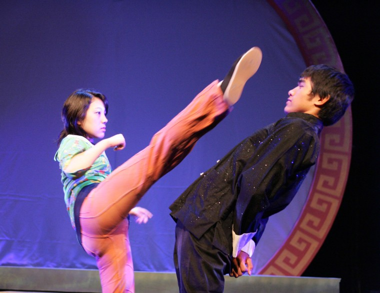 """A photo from the 2008 production of Dan Kwong's """"Be Like Water,"""" which made its world premiere at East West Players."""