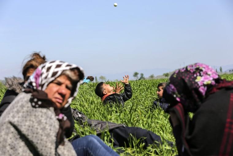 Image: Refugee crisis in Idomeni