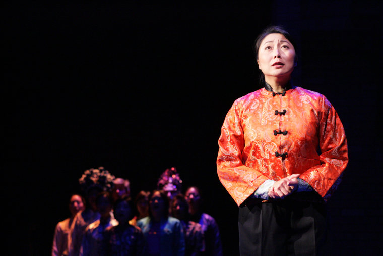 """A still from the 2008 East West Players production of """"The Joy Luck Club."""""""