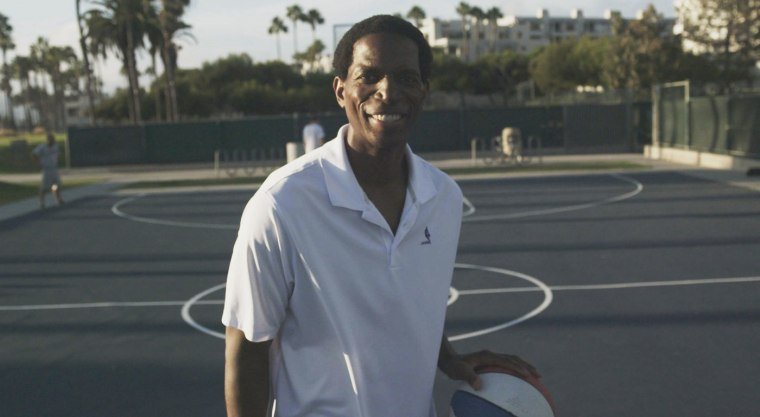 "Former L.A. Lakers power forward A.C. Green in ""A. C. Green: Iron Virgin."""