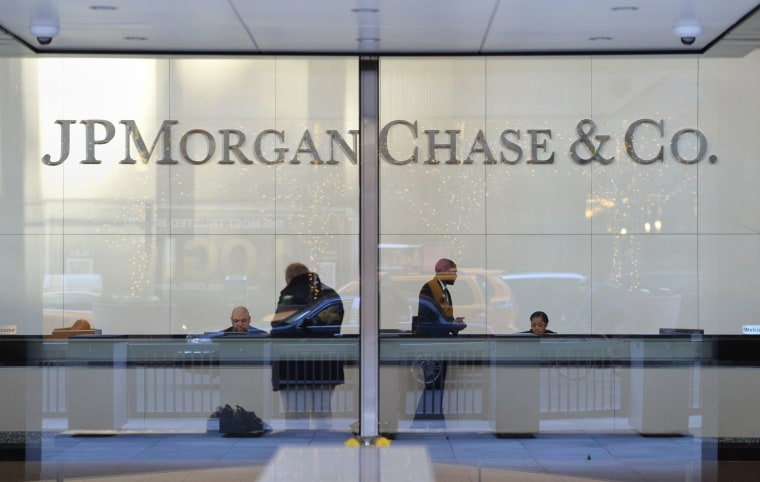 Image: US-BANKING-EARNINGS-JP MORGAN-FILES