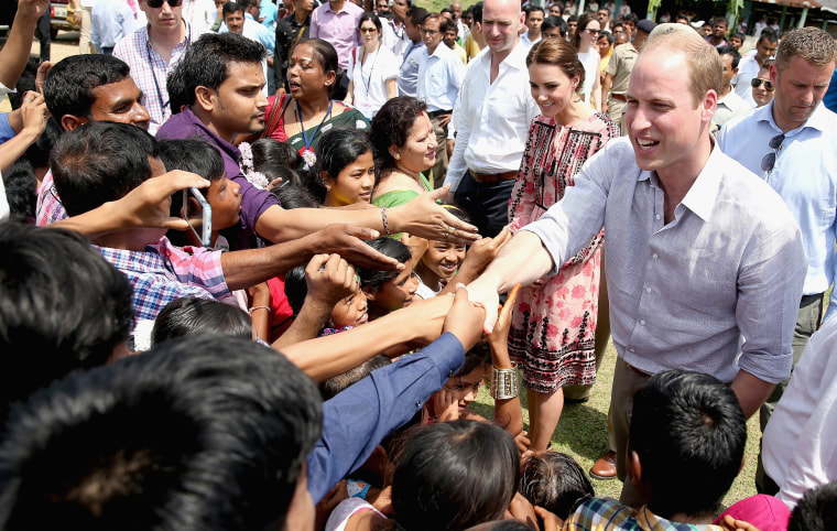 Image: The Duke & Duchess Of Cambridge Visit India and Bhutan - Day 3